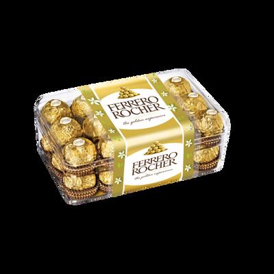 Chocolat FERRERO ROCHER, boîte de 30 piéces , soit 375g