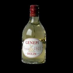 Liqueur de Génépi 1821 40° DOLIN, bouteille noémie 70cl