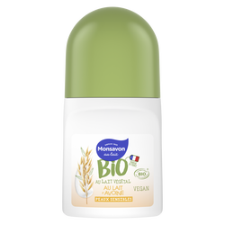 Deodorant lait d'amande bio MONSAVON bille 50ml