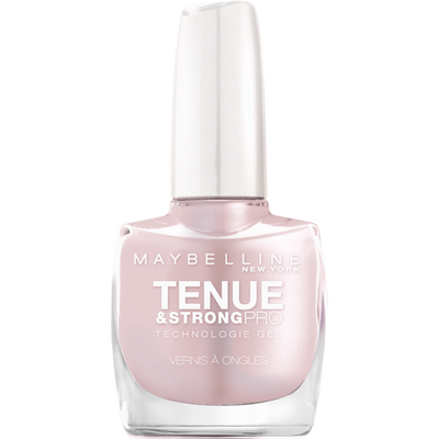 Vernis à ongles tenue & strong 78 porcelaine MAYBELLINE, nu