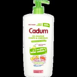 Shampooing douche enfant amande douce CADUM, 750ml