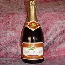 Vin champagnisé à la chataîgne Saint Alyre élaboré par EMB21464E FRANCE pour Saint Verny Vignobles a F36960 Veyre monton 750ml