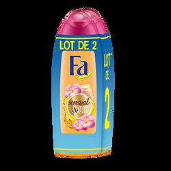 Gel douche sensual oil monoi FA 2x250ml