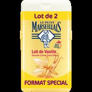Le Petit Marseillais Gel Douche Extra Doux Parfum Lait De Vanille Le Petit Marseillais, 2 Flacons De 250ml