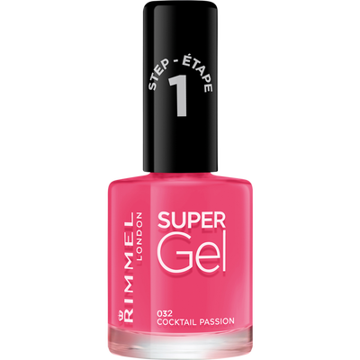 Vernis à ongle super gel by Kate cocktail passion 032 RIMMEL, 12ml