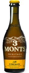 Bière Blonde Triple  3 MONTS CÉRÉALES  9° 33cl