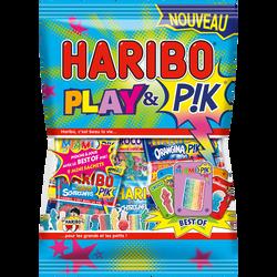 Confiserie Play & pik multipack HARIBO, sachet de 360g