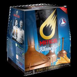 Bière blanche METEOR, 4,7°, 6 bouteilles de 25cl
