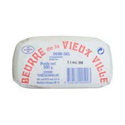 Beurre demi-sel LA VIEUX VILLE, 500g