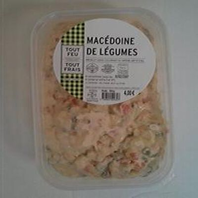 Macédoine de légumes, BREDIAL, barquette de 500g