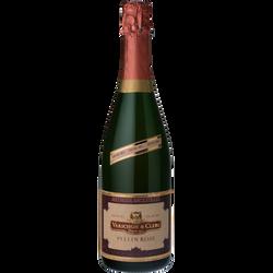 Vin rosé mousseux demi-sec Pellin VARICHON ET CLERC, 75cl