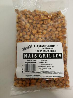 Maîs grillés, 250gr L'Amanderie