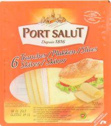 Fromage au lait past., 6 tranches, PORT SALUT, 120g