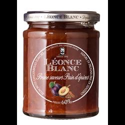 Préparation aux prunes saveur pain d'épice 60% LEONCE BLANC, 330g