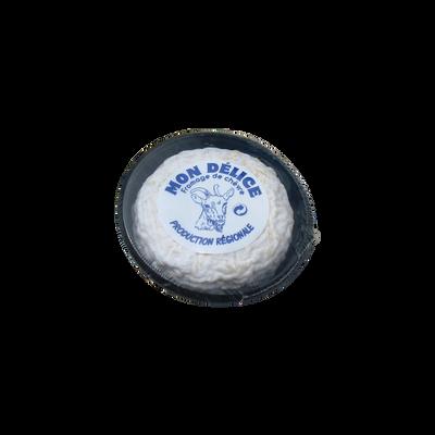 Délice de chèvre au lait cru, 31%mg, Jeandin, 80g