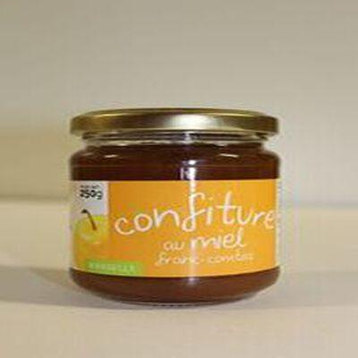 Confiture de mirabelle au miel Franc-Comtois pot de 250g