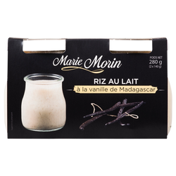 Riz au lait à l'ancienne MARIE MORIN, 2x140g