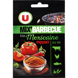 Mix barbecue à la Mexicaine piquant U, 10g