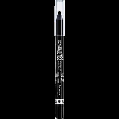 Crayon khôl scandaleyes waterproof 001 RIMMEL, 1,2gr