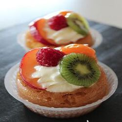 SAVARIN CHANTILLY OU FRUIT X2