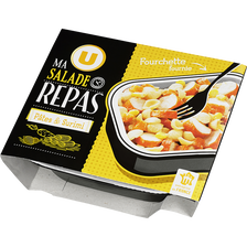 Salade pâtes surimi avec fourchette, U, 250g