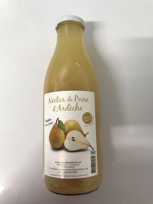 Nectar artisanal de poires d'Ardèche 1L