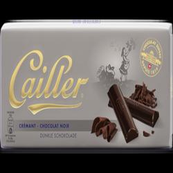 Tablette de chocolat noir crémant CAILLER, 100g