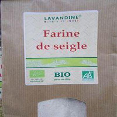 farine de seigle bio 400g