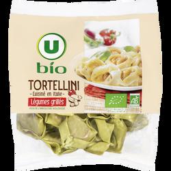 Tortellini aux légumes grillés Bio U, 250g