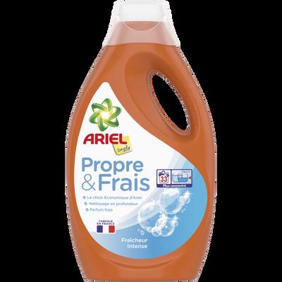 Lessive liquide simply intense ARIEL, 33 doses, 1,815l