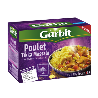 Poulet tikka massala GARBIT, kit complet de 700g