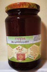 Miel de thym de Garrigues, Les Ruchers des barons d'Apcher, 500g