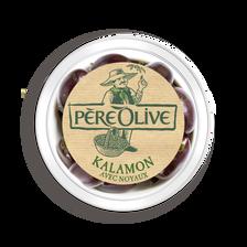 Olive kalamon avec noyau, barquette 120g