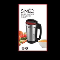 Blender chauffant SIMEO psm020