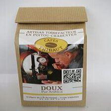 Café pur arabica, doux, 250gr, sachet, Café Thibaut