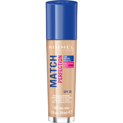 Fond de teint match perfection 103 RIMMEL, 30ml