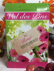 IGP Pays d'Hérault - Les Vignerons du Val des Pins - Rosé Bérange 5L