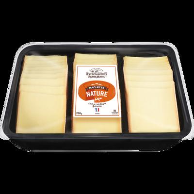Raclette au lait pasteurisé nature 26% de MG RICHESMONTS, 700g