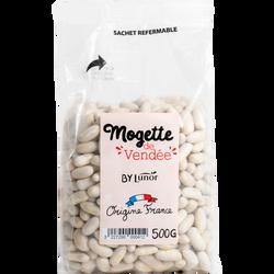 Mogette de Vendée sèche, LABEL ROUGE, LUNOR, sachet 500g