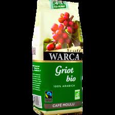 Café moulu bio Griot WARCA, 250g