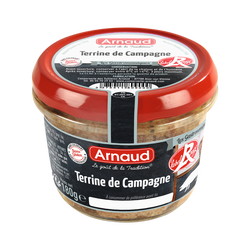 Terrine de campagne Label Rouge ARNAUD, 180G