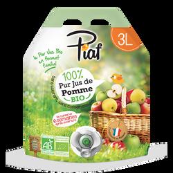 Pur jus de pomme Piaf BIO Bag Innov 3litres