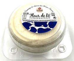 FLEUR DE RE AFFINE, au lait de chèvre thermisé, 23%MG, 150G