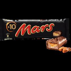 Barres chocolatées MARS, 10 barres, 450g