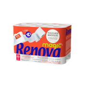 Renova Papier Toilette 4d Magic Renova, 12 Rouleaux