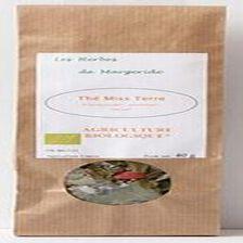 Les herbes en Margeride, Thé miss terre (framboisier, pomme, ronce), Bio 40g