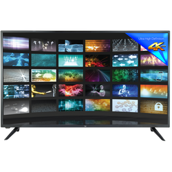 Téléviseur led 4k DUAL DL-43UHD-001-écran 43 pouces (109cm)- 3 hdmi-2usb pvr-1 sortie optique-1 sortie casque-haut-parleurs tv 2x8w