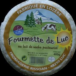 Fourmette de Luc au lait pasteurisé, 30%MG, 400g