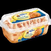 Nestlé Crème Glacée Saveur Caramel Beurre Salé Et Morceaux De Caramel Croquant La Laitière, Pot De 510g