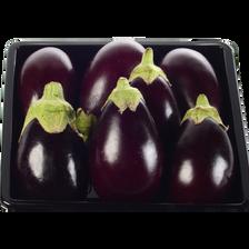 Mini aubergine, Afrique du Sud, barquette 200g